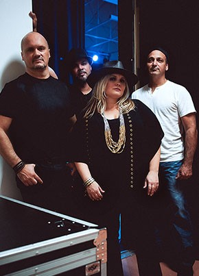 Samantha Russell Band Goes NFL