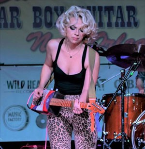 January's Second Annual Samantha Fish Cigar Box Guitar Festival