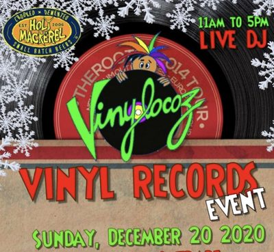 Holy Mackerel – Vinyl Records Event
