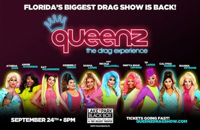 Queenz Drag Show LIVE in WPB!