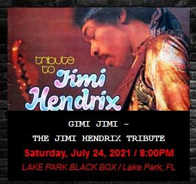 THIS WEEKEND: The JIMI HENDRIX Tribute & Comedian STEVE MARSHALL